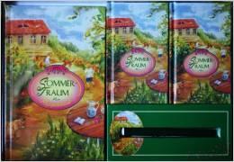 Sommertraum - 3 Bücher + 1 Stift - O.A.