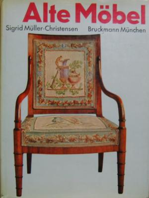alte m bel vom mittelalter bis zum jugendstil m ller christensen sigrid buch antiquarisch. Black Bedroom Furniture Sets. Home Design Ideas