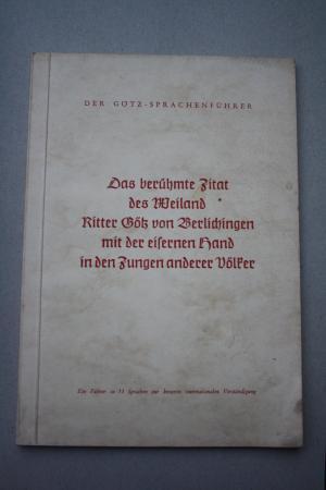 Götz Von Berlichingen Zitate