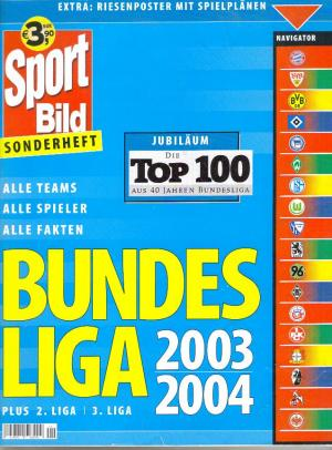 gottschalk pit sport bild sonderheft bundesliga 2003. Black Bedroom Furniture Sets. Home Design Ideas