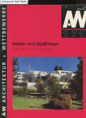 9783782831710 - Reihen- und Stadthäuser. Row and Town Houses. (AW Architektur + Wettbewerbe 171) - Buch