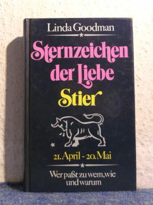 linda goodman sternzeichen der liebe stier b cher gebraucht antiquarisch neu kaufen. Black Bedroom Furniture Sets. Home Design Ideas