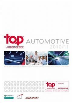 Top Arbeitgeber Automotive 2010/11 - CRF (Hrsg.)