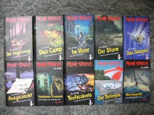 R.L. Stine Fear Street 10 Horror Books YA Book Lot