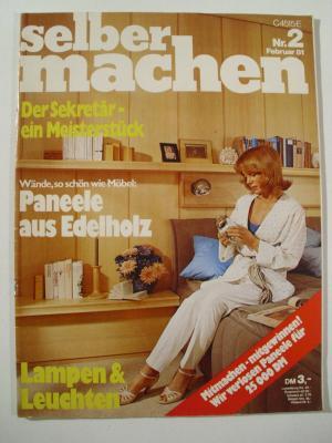 selber machen heft 2 februar 1981 buch gebraucht kaufen a01lsefn01zzr. Black Bedroom Furniture Sets. Home Design Ideas