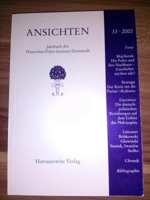 Ansichten - Jahrbuch des Deuten Polen-Institus Darmstadt 13, 2002