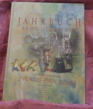 9783936256291 - Jahrbuch des Rhein-Sieg-Kreises 2008 - Charaktere, Typen, Originale - Книга