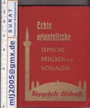 Echte orientalische Teppiche, Brücken und Vorlagen. Teppich-Kibek.
