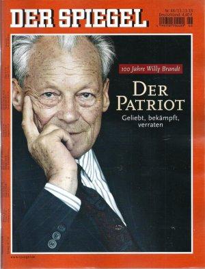 Der spiegel der patriot 100 jahre willy for Der spiegel deutsche ausgabe