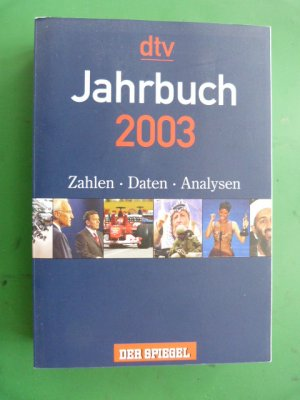 jahrbuch 2003 hrsg von der zeitschrift der spiegel buch gebraucht kaufen a011gylt01zzn. Black Bedroom Furniture Sets. Home Design Ideas
