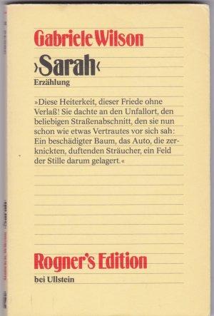Sarah - Erzählung - Gabriele Wilson