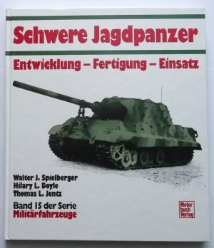 schwere jagdpanzer spielberger walter j buch gebraucht kaufen a02avlbl01zzt. Black Bedroom Furniture Sets. Home Design Ideas