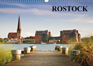 Rostock (Wandkalender 2018 DIN A3 quer) - Rico Ködder