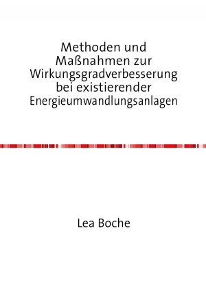 Methoden und Maßnahmen zur Wirkungsgradverbesserung bei existierender Energieumwandlungsanlagen - Lea Boche