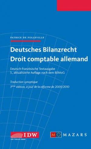 Deutsches Bilanzrecht - Droit comptable allemand - Deutsch-französische Textausgabe - Traduction synoptique - de Folleville, Patrice