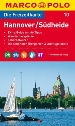 MARCO POLO Freizeitkarte Blatt 10 Hannover, Suedheide 1:100 000