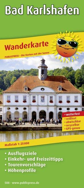 Bad Karlshafen - Wanderkarte mit Ausflugszielen, Einkehr- & Freizeittipps, wetterfest, reißfest, abwischbar, GPS-genau. 1:25000