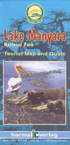Karte Lake Manyara 1 : 100000: Tourist Map and Guide - harms-ic-verlag