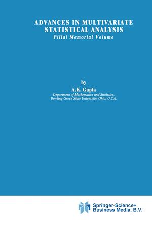 Advances in Multivariate Statistical Analysis - Gupta, A.K. (Hrsg.)