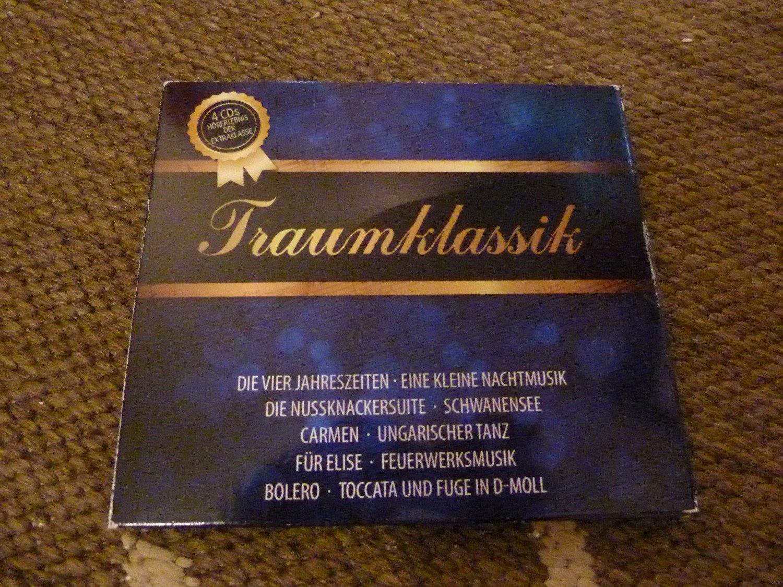 traumklassik 4 cds h rerlebnis der extraklasse. Black Bedroom Furniture Sets. Home Design Ideas