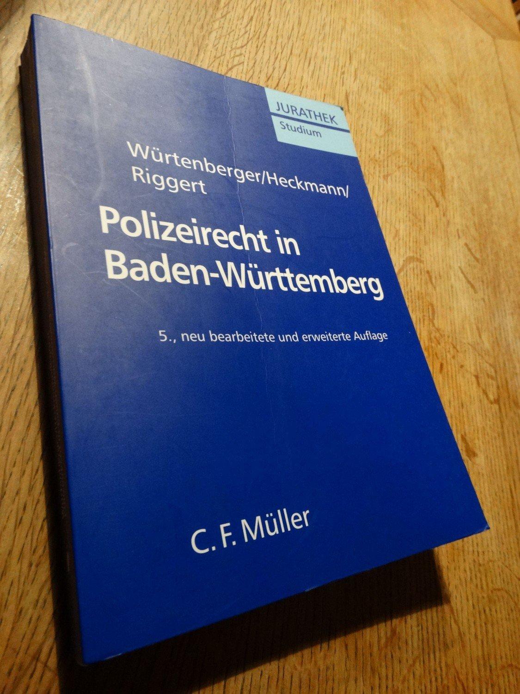 """""""Polizeirecht in Baden-Württemberg"""" (Würtenberger Thomas ..."""