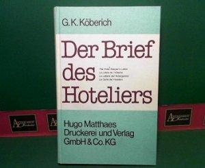 Der Brief Des Hoteliers Hotelkorrespondenz Von Heute Und Morgen