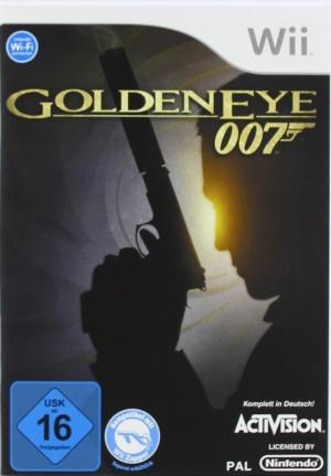 james bond goldeneye 007 wii spiel gebraucht kaufen. Black Bedroom Furniture Sets. Home Design Ideas