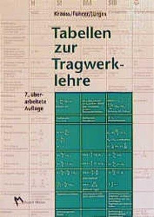 """Tabellen zur Tragwerklehre"""" (Krauss Franz) – Buch gebraucht kaufen ..."""