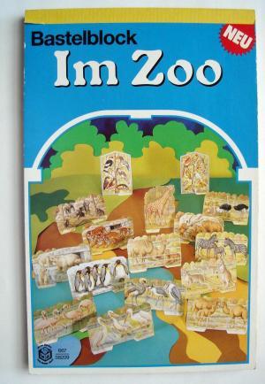 das ausschneidebastelbuch im zoo