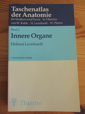 """Taschenatlas der Anatomie für Studium und Praxis"""" (Helmut Leonhardt ..."""