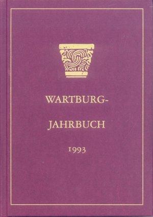 Bildtext: Wartburg-Jahrbuch 1993 von Wartburg-Stiftung Eisenach