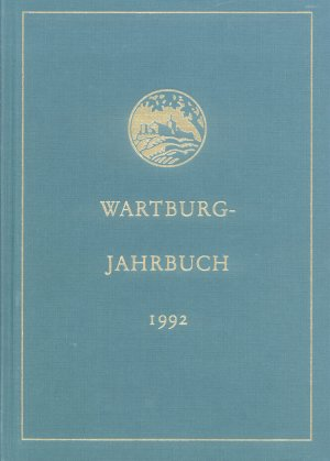 Bildtext: Wartburg - Jahrbuch 1992 von Wartburg-Stiftung Eisenach