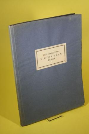 Antiquarisches Buch U0026ndash; Falke, Otto Von U0026ndash; Sammlung Victor Hahn    Berlin