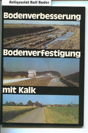 Bodenverbesserung Bodenverfestigung Mit Kalk Bundesverband Der