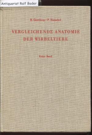 Vergleichende Anatomie der Wirbeltiere, Band 1: Integument ...