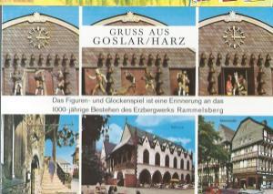gruss aus goslar harz das figuren und glockenspiel ist. Black Bedroom Furniture Sets. Home Design Ideas