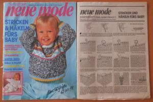 Neue Mode Sonderheft Stricken Häkeln Fürs Baby Buch Gebraucht