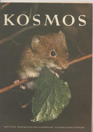Kosmos. Die Zeitschrift für alle Freunde der Natur. Heft 11/1959.