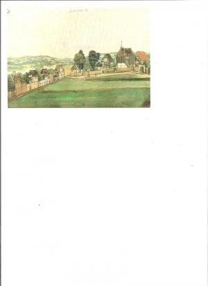 Postkarte Nürnberg, St.Johannis,  Albrecht Dürer