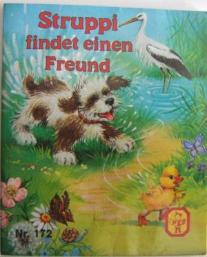 Struppi findet einen Freund Pestalozzi Büchlein Nr. 172 Mini-Buch