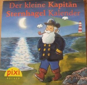 Der kleine Kapitän Sternhagel Kalender PIXI Buch Nr. 1220 aus der PIXI Bücher Serie W18