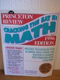 Cracking the SATII: MATH Subject Tests 1996 Edition - Mintz Ethan Robinson Adam