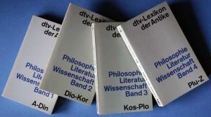 dtv-Lexikon der Antike: Philosophie, Literatur, Wissenschaft (4 Bände)