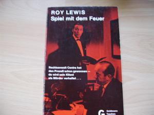 Spiel Mit Dem Feuer Roy Lewis Buch Gebraucht Kaufen A00qljgj01zzw