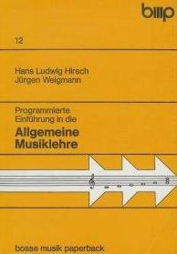 Programmierte Einführung in die allgemeine Musiklehre