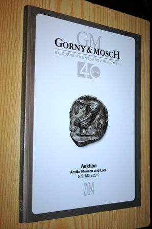 Gorny Mosch Giessener Münzhandlung Auktion Antike Münzen Gorny