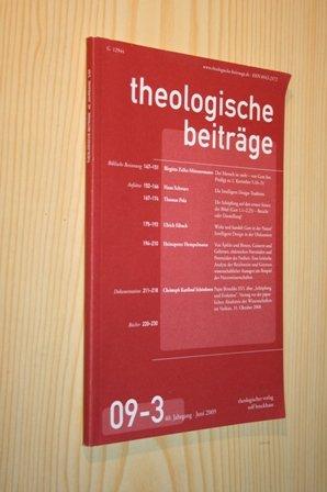 Theologische Beiträge 09-3, 40. Jg., Juni 2009