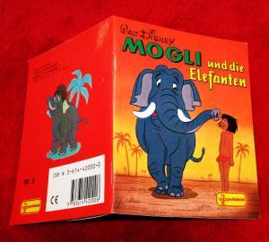 Mogli und die Elefanten. Mogli-Büchlein Nr. 2. Mini-Buch