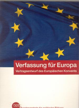 Vertrag über Eine Verfassung Für Europa Thomas Läufer Buch