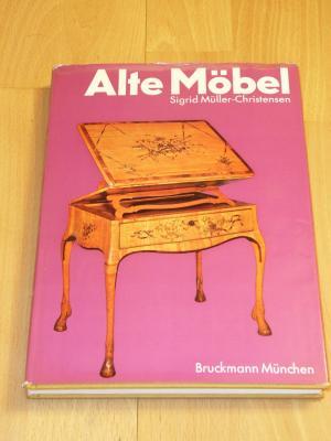 Alte Mobel Vom Mittelalter Bis Zum Jugendstil Sigrid Muller